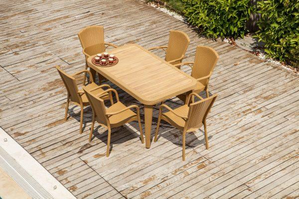 Table Osaka & Armchair Royal_medium